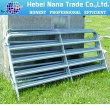 PVC Coated Or Hot Dipped Galvanized Tube Welded Portable Horse Fencing