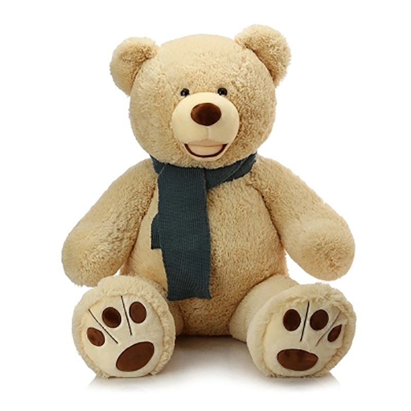 Giant Bear Plush Toys Stuffed Doll Creative Cushion Gift Toy Collection Bear Plush Toy