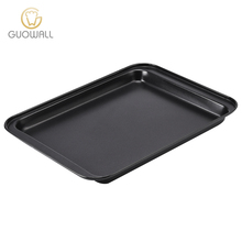 "9"" Rectangle Carbon Steel Non-stick Baking Tray Pizza Tray Cake Pan For Baking Oven"