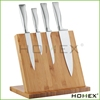 Bamboo magnetic knife holder with 4 magnet Homex-BSCI Factory