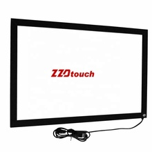 ZZDtouch IR overlay 43 inch IR touch frame multi infrared touch screen kit <strong>10</strong>' to 300'' ir touch sensor for interactive machine