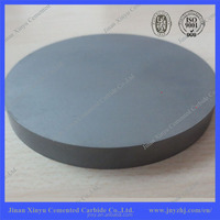 Customized Tungsten Carbide Round Plate For Cast Iron Lapping