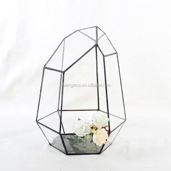 MX130035-Gray garden decoration terrarium