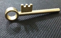 Magic key trick (metal)
