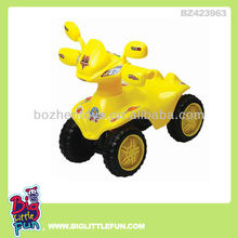 Battery powered children toy car to drive