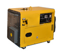 2017 Popular 5.5kw Ultra-silent Gasoline Generator easy carry protable gasoline generator slient