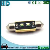 Car lamp led t10 crees canbus,w5w led car, super 31mm 36mm 39mm 42mm c5w festoon light led canbus