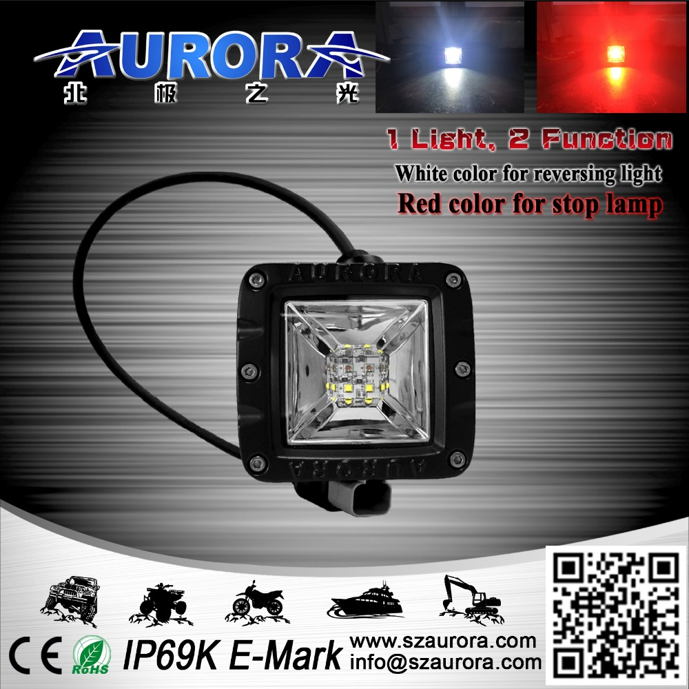4x6 headlight motorcycle rear light type led off road aurora