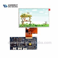 hot sales tft 5 inch lcd panel 800*480