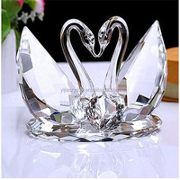 Crystal couple Swan For Wedding Gifts Wedding Favors