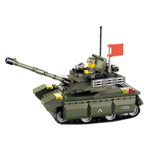 building blocks type 99main battle tank educational building block toys