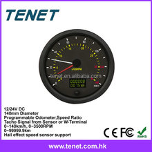 international speedometer 12V 24V, universal digital car speedometer international series