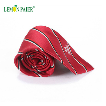 New Design Plaid Wash Polyester Mens Ties
