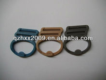 Adjuster round webbing strap buckle plastic seat belt buckle