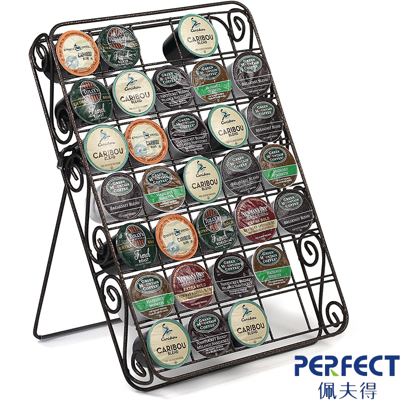 Universal K cup Storage Rack 35 Capacity with Pattern