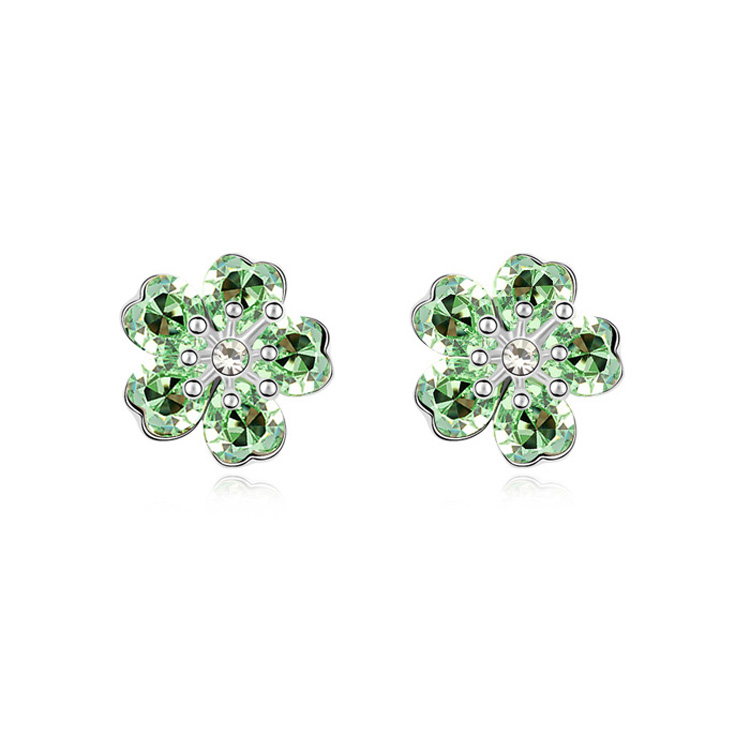 2014 fashion and hot sell crystal ear studs