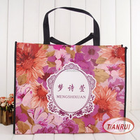 Factory sale jumbo recyclable PP laminated non woven bag