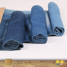 Low Cost of Denim Fabrics Soft Women Skirts Jeans Camouflage Denim Fabric