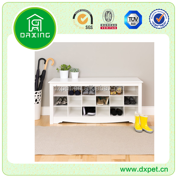 New create hot sale mdf shoe cabinet with mirror