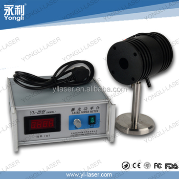 high quality desktop for co2 laser tube 220v power meter
