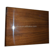 PSS trophies custom wood made in China wooden plaque with trophy award