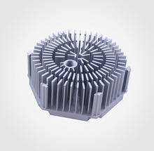 High quality round fin cxb3590 heatsink