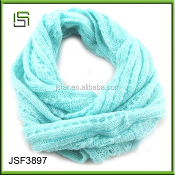 Hot sale koreabule kinting snood scarf for women
