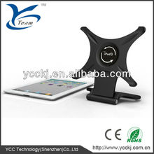360 Degree Rotation stand Holder for iPad 3 / iPad 4 ,for iPad holder stand for tablet