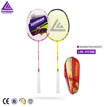Lenwave high quality carbon ball badminton racket