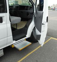 ES-S electric side steps with CE certificate for vehicles