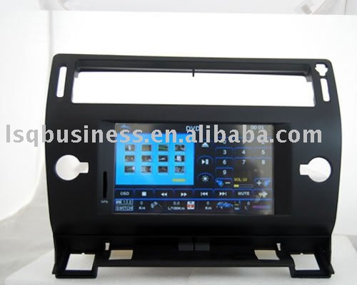 Special Citroen C4 car DVD player with GPS, canbus, FM, TV, SD, USB...