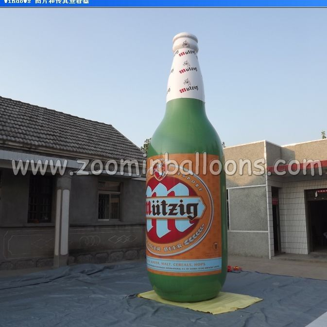 Good price giant inflatable beer bottle N2059