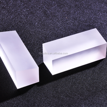 optical glass lens blank,plano convex cylindrical lens, no polishing, only fine grind