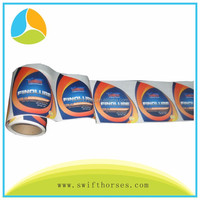 Custom Self Adhesive Label Sticker Printing