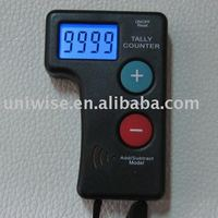 4 digits lcd display electronic hand tally counter