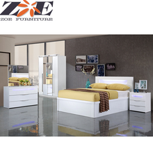 Modern furniture homes foshan wooden mdf bedroom furniture