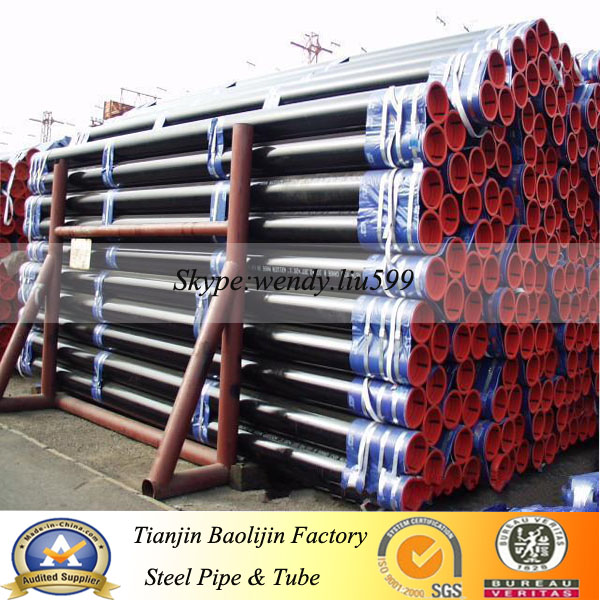 "oil well 9 5/8"" API 5ct steel casing pipe"