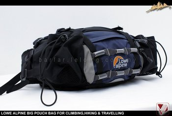 LOWE ALPINE BIG POUCH BAG FOR OUTDOOR