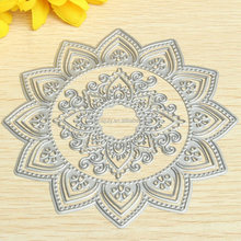 DIY model templates metal etching stencils cutting dies for scrapbooking flower