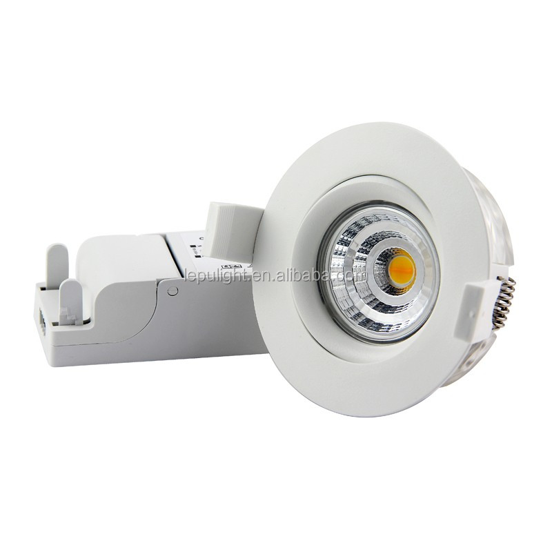 2017 New arrival Max 99Ra Sharp COB GYRO dim warm downlight 9w with ELKO 5 years warrany