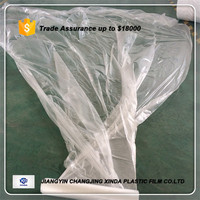 pe plastic cover sheet for mattress packaging transparency film