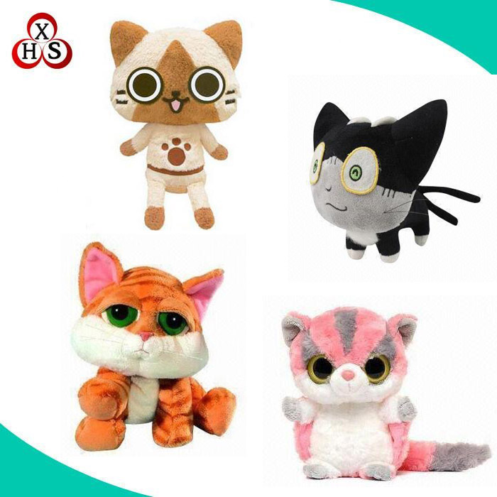 2016 animated sound speaking plush stuffed toys music doll toy cat