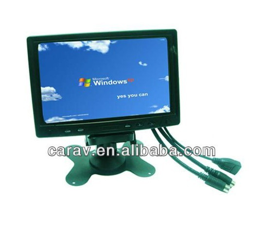 "7""Touch screen/touch monitor/7 inch IP65 waterproof lcd monitor with 12v dc input"