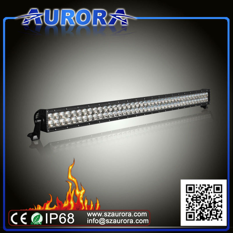 Hotsell high quality AURORA 40inch LED light,atv parts