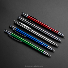 Chinese factories manufacture advertising customized logo promotional metal ball point pen