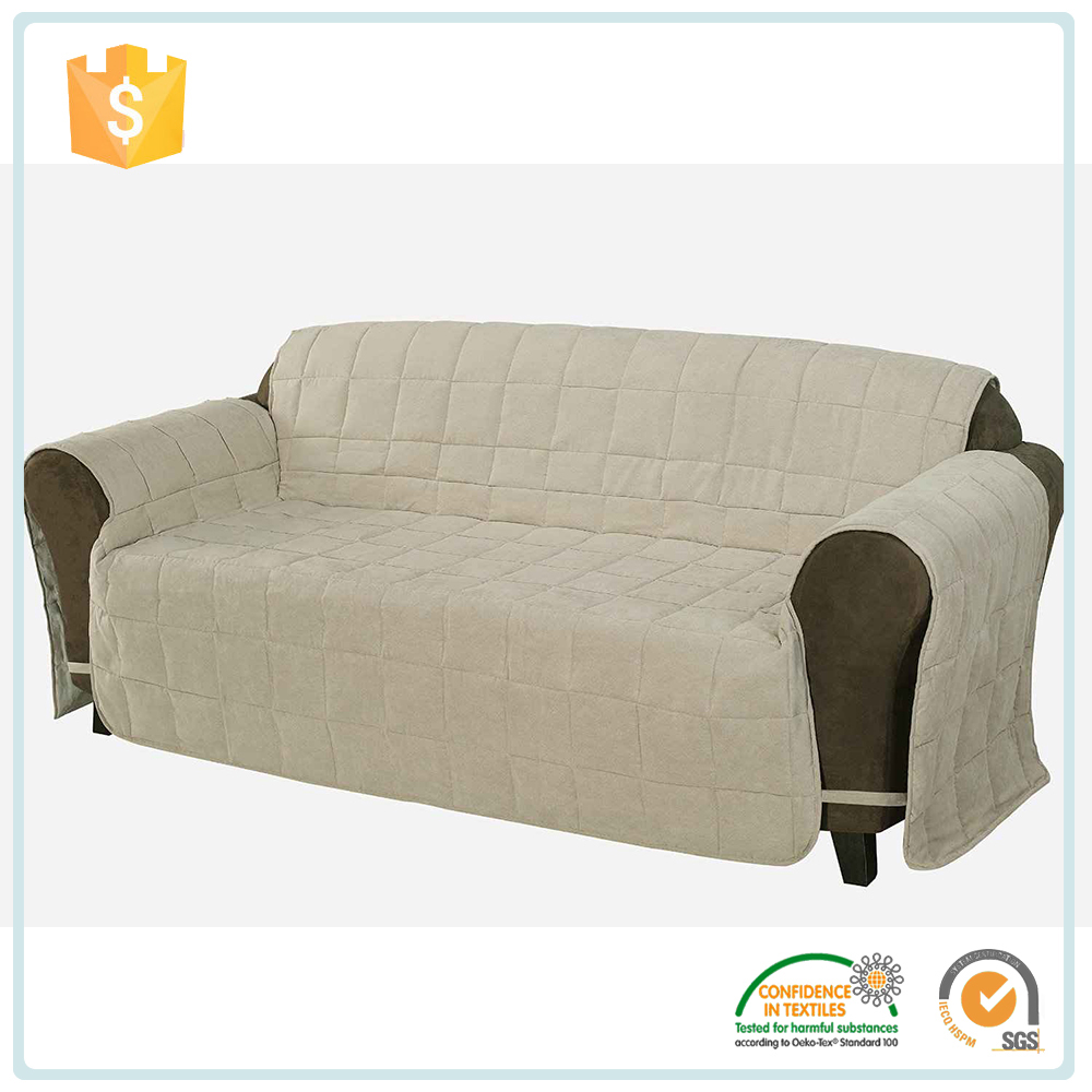 China Supplier Embroidery Sofa Cushion Cover /Waterproof Sofa Cover Protector