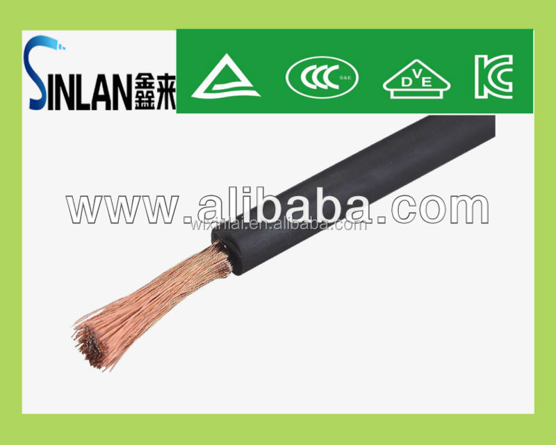 70mm2 COPPER&CCA welding cable stranded wire aluminum cable