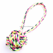 Hand pull pet cotton rope ball The dog ball cotton rope toys 28cm