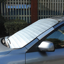 EPE alumiumn film car windshield sunshade,cardboard car sun shade at factory price