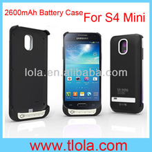 Portable Power Bank for Samsung Galaxy S4 Mini Battery Case